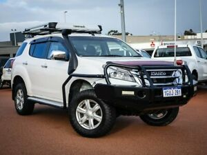 2014 Isuzu MU-X MY14 LS-U Rev-Tronic White 5 Speed Sports Automatic Wagon Wangara Wanneroo Area Preview