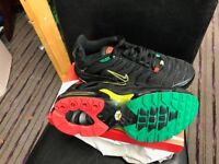 Nike Air Max Plus TN Trainer Jogger Shoes Black yellow Green Red