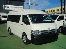 2013 Toyota Hiace TRH223R MY12 Upgrade Commuter White 4 Speed Automatic Bus Canada Bay Canada Bay Area Preview