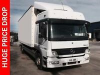 2008 Mercedes-Benz Atego 1224 RIGID L-H CAB, REFRIGERATED Diesel white Manual