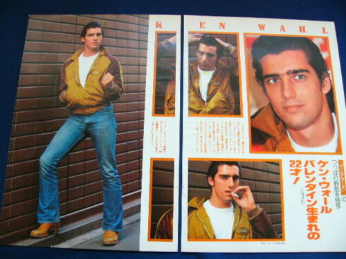 1970s Ken Wahl Japan 8 Clippings THE WANDERERS VERY RARE