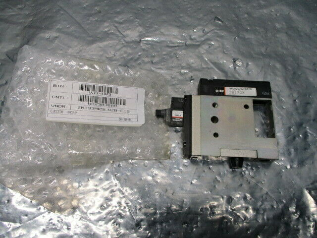 SMC ZM133MK5LNZB-E15 Vacuum Ejector Assy, ZM133M, VJ114, 100804
