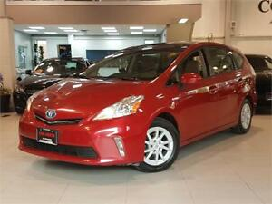 2012 Toyota Prius v **LEATHER-CAMERA-DUAL PANO ROOF**
