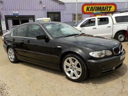 2002 BMW 330I E46 MY2002 Steptronic Black 5 Speed Sports Automatic Sedan North St Marys Penrith Area Preview