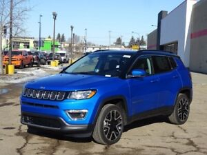2019 Jeep Compass 4X4 LIMITED                HEATED LEATHER INTE