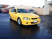 2005 Ford Falcon BA Mk II XR6 Yellow Sports Automatic Sedan Bunbury Bunbury Area Preview