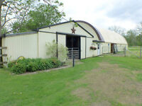 14.84 ACRE HOBBY HORSE FARM JUST WEST OF LONDON!