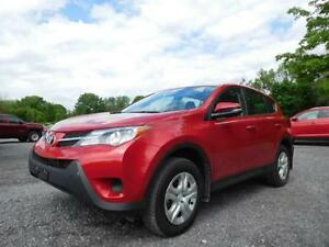 2015 Toyota Rav 4 LE-AWD *** Pay Only $76.62 Weekly OAC ***