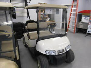 2011 EZGO RXV Golf Cart White 48V