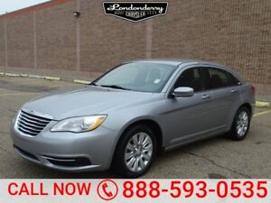 2014 Chrysler 200 LX Accident Free,  A/C,