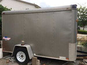6'x10' enclosed Interstate trailer, very good condition
