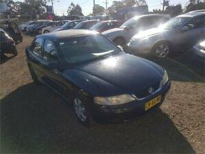 2000 Holden Vectra JS2 MY01 CD Black Automatic Sedan Lansdowne Bankstown Area Preview