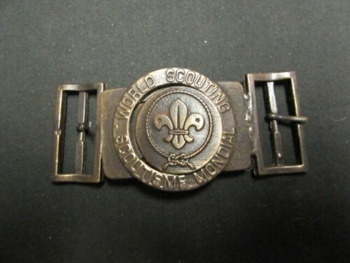 Costa Rico Boy Scout Two Piece Belt Buckle        c31
