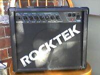 Rocktek guitar practice amp, great sound, versatile,20 watts