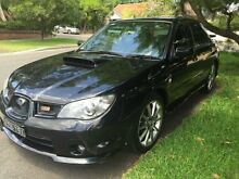 2006 Subaru Impreza 2.5 WRX Black Manual Sedan Croydon Burwood Area Preview