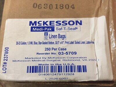 (Case of 250) Linen Bag Medi-pak™ Saf-t-seal® 30 To 33 Gallon 30-1/2 X 41 Inch  30 Gallon Linen Bag