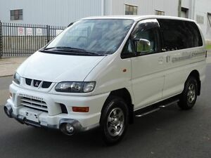 2001 Mitsubishi Delica Spacegear Low Roof 8st White 4 Speed Automatic Wagon Taren Point Sutherland Area Preview