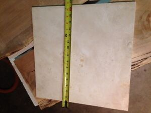 "Large 16"" Marble (or marble lookalike) Tile Cambridge Kitchener Area image 1"