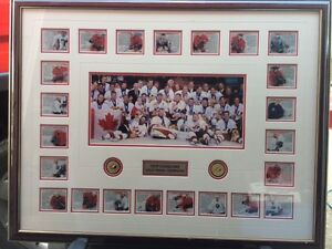 Team Canada 2002 Mens Gold Medal Hockey Team Photo