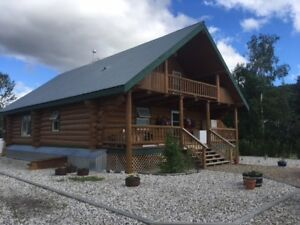 Heavy Duty Mechanic Business and Log Home For Sale