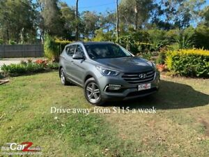 2017 Hyundai Santa Fe DM3 MY17 Active Grey 6 Speed Sports Automatic Wagon Capalaba Brisbane South East Preview