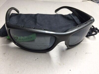 Native Bomber Gunmetal Polarized (Native Sunglasses)