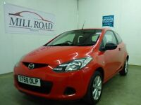MAZDA 2 1.3 TS 3d 74 BHP PERFECT FIRST CAR (red) 2009