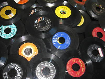 100 45 RPM VINYL RECORDS HIGH SCHOOL HOMECOMING PARTY DECORATIONS 60TH BIRTHDAY