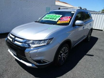 2015 Mitsubishi Outlander ZK MY16 Exceed (4x4) Silver 6 Speed Automatic Wagon Nowra Nowra-Bomaderry Preview