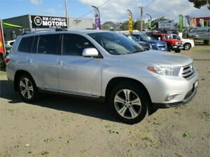 2012 Toyota Kluger GSU40R MY11 Upgrade KX-S (FWD) Silver 5 Speed Automatic Wagon Heatherbrae Port Stephens Area Preview