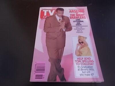 Tori Spelling  Arsenio Hall   Tv Guide Magazine 1993