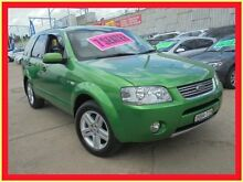 2004 Ford Territory SX Ghia Green 4 Speed Automatic Wagon Holroyd Parramatta Area Preview