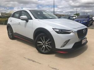 2016 Mazda CX-3 DK2W76 sTouring SKYACTIV-MT White 6 Speed Manual Wagon Garbutt Townsville City Preview