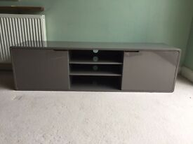Dwell Basel TV unit cabinet grey stone RRP£449
