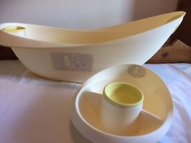Mothercare Winnie the Pooh baby bath and top and tail bowl