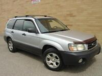 2003 Subaru Forester X All Wheel Drive. 5 speed manual! Certifie