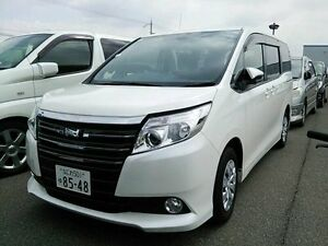 2014 Toyota Townace NOAH 80 SERIES CURRENT SHAPE White 5 Speed Tiptronic Wagon Taren Point Sutherland Area Preview