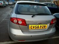 CHEVROLET LACETTI 1.6 SX 58 REG LOW MILES 49K 5DR HATCHBACK ALLOYS PARKING SENSORS