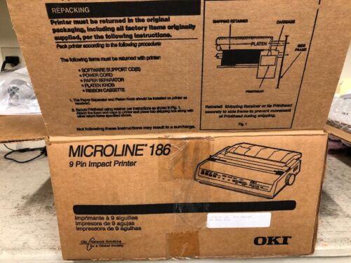 MicroLine 186-9 Pin Impact Printer
