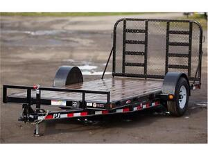 Brand new PJ Single axle Heavy Duty Car and equipment trailer