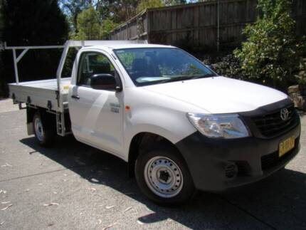 Toyota Hilux Workmate Ute 2015