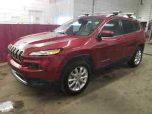 2015 Jeep Cherokee Limited backup camera/leather seats/uconnect