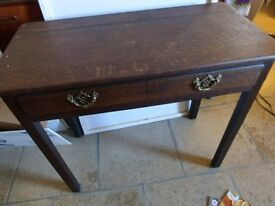 Side Table with drawer.