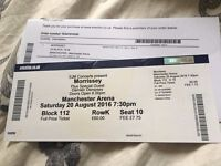 1 Morrissey Ticket - Manchester Arena 19th August