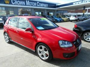 2008 Volkswagen Golf 1K MY08 Upgrade 2 GTi Red 6 Speed Manual Hatchback Victoria Park Victoria Park Area Preview