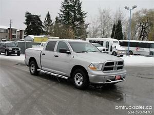 2011 DODGE RAM 1500 ST CREW CAB SHORT BOX 4X4