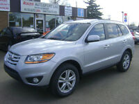 """2010 SANTA FE """"LIMITED"""" - AWD - PST PAID! - IN YORKTON"""