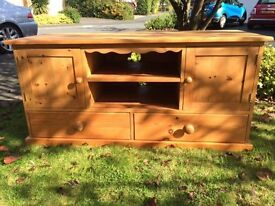 FABULOUS RECLAIMED PINE CUPBOARD /TV MEDIA CABINET