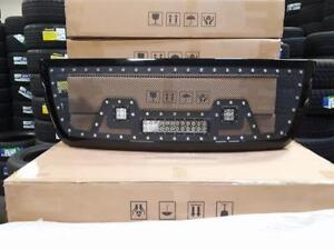 BRAND NEW 2010, 2011 & 2012 DODGE RAM BLACK MESH LED GRILL WITH FULL SHELL! - NO CUTTING REQ! - FINANCING AVAILABLE
