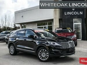 2017 Lincoln MKC Reserve, WARRANTY TO 160000KM, FINANCE FROM .9%